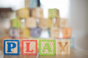 Play blocks. Play Therapy & child counseling available in Roswell, GA 30076
