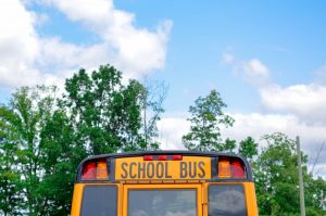 Photo of School Bus | Parent Coaching for Child Separation Anxiety | School Anxiety & Child Counseling | Atlanta, GA area | Roswell, GA 30076