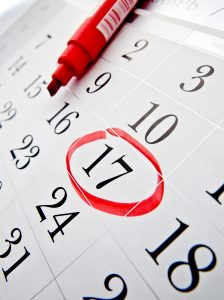 Calendar with date circled | Therapy in Atlanta Area | Counseling in Rosewell, GA | 30076